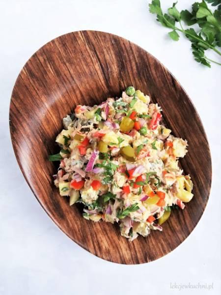 Ziemniaczana sałatka z tuńczykiem / Potato Tuna Salad