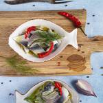 Marynowany śledź na ostro z chili