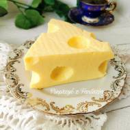Sernik na zimno (jak żółty ser)