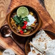 Kac-Zupa - Ostra zupa z mięsem mielonym