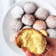 Pączki serowe bez drożdży / No Yeast Cream Cheese Doughnuts