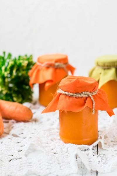 Dżem Marchewkowo Pomarańczowy