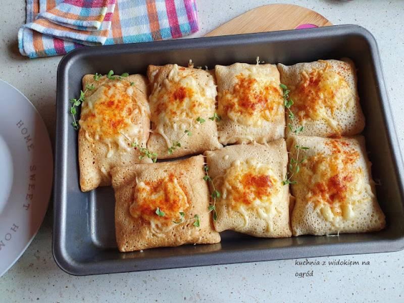 Naleśniki gyros zapiekane z serem