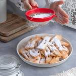 Szybkie i proste faworki z piekarnika