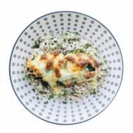 Filety z mozzarellą, szpinakiem i białym serkiem