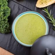 Zupa krem z groszku i pesto