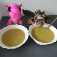 Zupa krem z zielonego groszku i pora