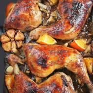 Pieczone udka kurczaka z rumianą skórką