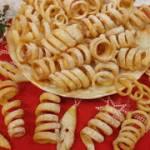 Karnawałowe sprężynki - serpentynki – smakowite faworki w innym kształcie  😋😋😋