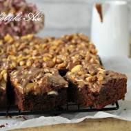 Brownie ala Snickers