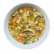 Zupa grzybowa z boczniaków i pieczarek