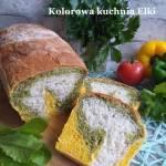 Trójkolorowy pszenny chlebek