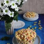 Imprezowa sałatka makaronowa