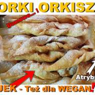Faworki wegańskie - orkiszowe!