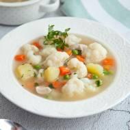 Zupa jarzynowa z kaszą manną. Jak na obiadku u babci. PRZEPIS