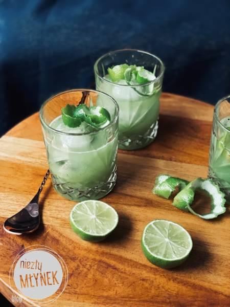 Kwaśna limonka i kiwi na whisky
