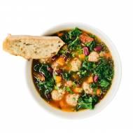 Zupa toskańska z pulpetami