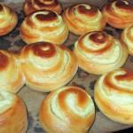 Serowe ślimaczki-pyszne, najłatwiejsze  drożdżówki z serem+FILM