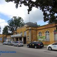 Zabytkowy Dworzec Kolejowy w Ciechocinku woj. kujawsko - pomorskie