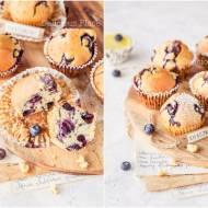 Babeczki cytrynowo-borówkowe / Lemon and blueberry cupcakes