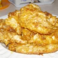z patelni polędwiczki kurczaka z serem ...
