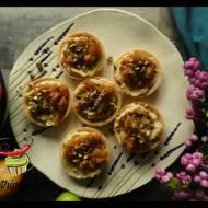 Mini tarty z kremem jabłkowym