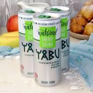 YABU - naturalny energy drink z tłoczonego soku jabłkowego