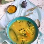 Zimowa zupa z ciecierzyca i fasolka