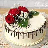 Tort malinowy na Rocznicę Ślubu