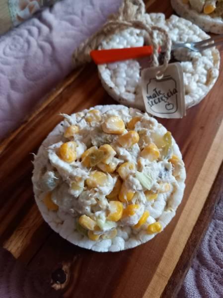 Sałatka ziemniaczana z makrelą