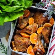 Pieczone udka kurczaka po śródziemnomorsku