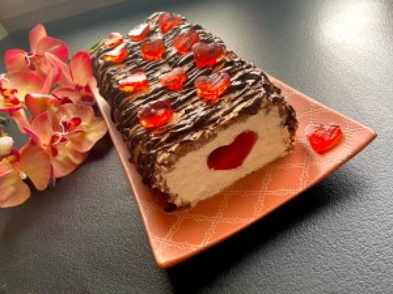 Ciasto walentynkowe serduszko