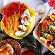 Sałatka z kiełkami słonecznika i jajkiem