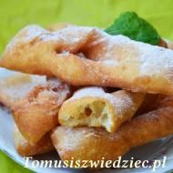 Taratuszki – faworki jogurtowe