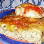 placek pizzowy na Dzień Pizzy 09.02.2021na drożdżach suszonych...