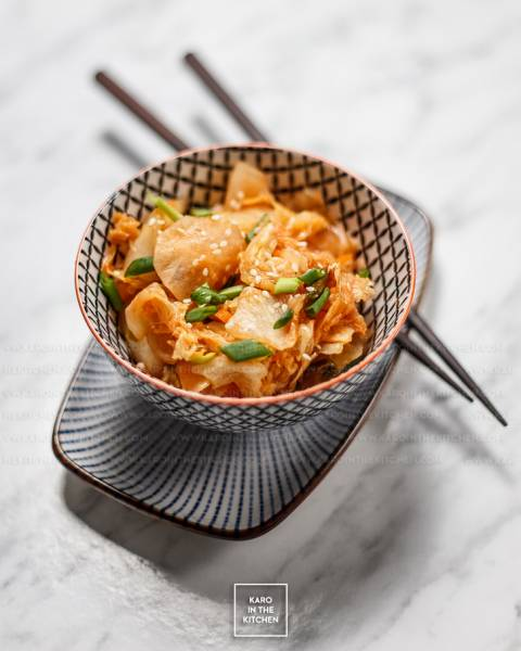 Koreańskie łatwe kimchi – Mak Kimchi