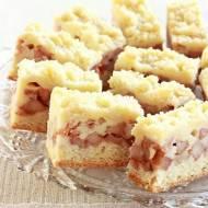Ciasto serowo-jabłkowe z kruszonką