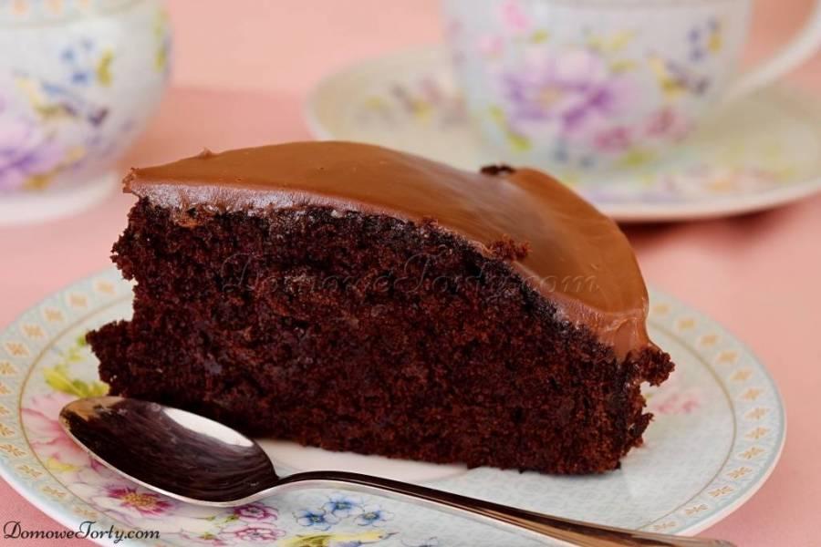 Czekoladowe ciasto wegańskie i bezglutenowe