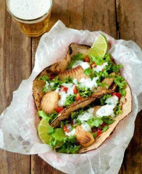 Grillowane rybne tacos