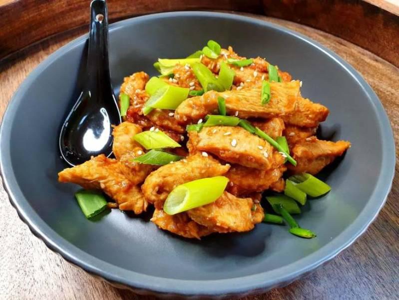 Kurczak w stylu chińskim