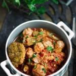 Klopsiki indycze z warzywami z turecką nutą