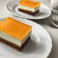 Ciasto bez pieczenia z mascarpone i galaretkami