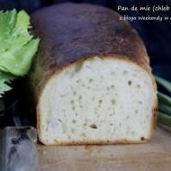 Pan de mie (chleb tostowy) w lutowej piekarni