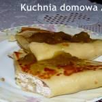Neleśniki z serem i gruszkami