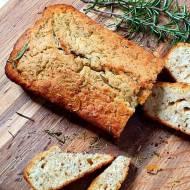 Chleb piwny z miodem i rozmarynem