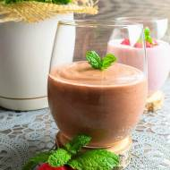 Deser czekoladowy na mleczku kokosowym