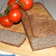 Chleb gryczany na drożdżach z ogórkiem kiszonym