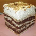 Ciasto czekoladowo-orzechowe bez pieczenia+FILM