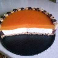 Ciasto z musem brzoskwiniowym bez pieczenia