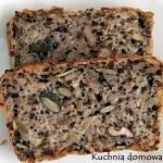 Chleb z ziarnami bez wyrabiania
